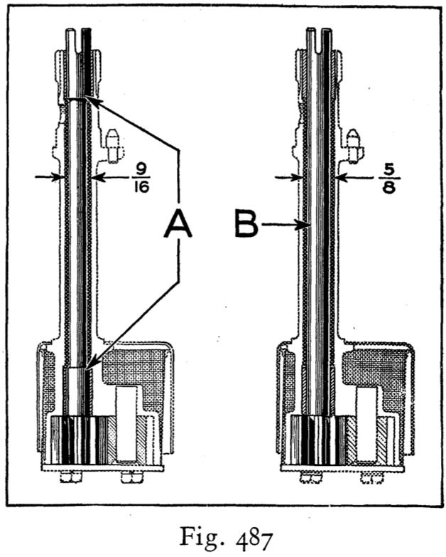 Oil Pump Shaft Model A Garage Inc